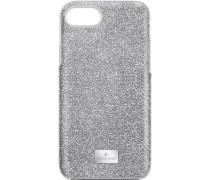 High Smartphone Schutzhülle mit integriertem Stoßschutz, iPhone® 8, grau