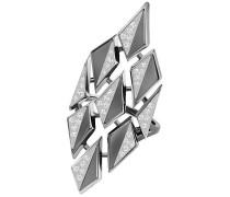 Ground Ring, weiss, rutheniert Weiss Rhodiniert