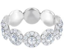 Angelic Ring, weiss, rhodiniert