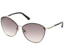 Friendship Sonnenbrille, SK0119 32F, Havana vergoldet