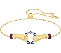 Tarot Magic Armband, mehrfarbig, Vergoldet