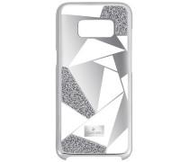 Heroism Smartphone Etui mit Bumper, Samsung Galaxy S® 8, grau Edelstahl