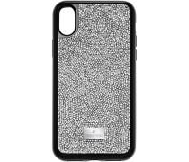 Glam Rock Smartphone Etui mit integriertem Bumper, iPhone® X/XS, grau
