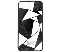 Heroism Smartphone Etui mit Bumper, iPhone® 8, schwarz Edelstahl