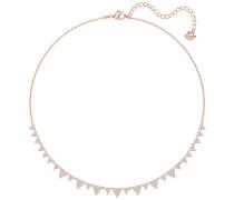 Lima Halskette, weiss, rosé Vergoldung Weiss Rosé vergoldet
