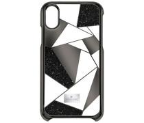 Heroism Smartphone Etui mit Bumper, iPhone® X, schwarz Edelstahl