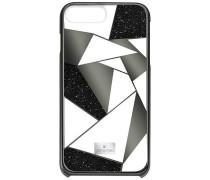 Heroism Smartphone Etui mit Bumper, iPhone® 8 Plus, schwarz Edelstahl