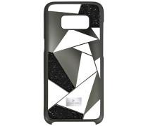 Heroism Smartphone Etui mit Bumper, Samsung Galaxy S® 8, schwarz Edelstahl