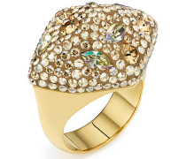 Moselle Ring, vergoldet Braun vergoldet