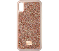 Glam Rock Smartphone Schutzhülle, iPhone® X/XS, Rotgold