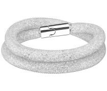 Stardust Deluxe Armband Weiss Edelstahl