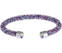 Crystaldust Armreif, violett, Edelstahl