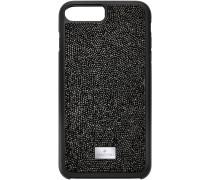 Glam Rock Smartphone Etui mit Bumper, iPhone® 8 Plus, schwarz
