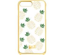 Lime Smartphone Etui mit Bumper, iPhone® 8 Plus, transparent