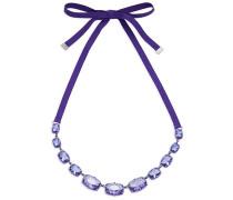 Jewel-y McHue-y Large Halskette, mattes lila Finish Lila Rhodiniert