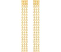 Fit Long Ohrringe, goldfarben, vergoldet