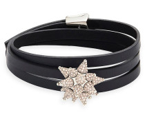 Kalix Wrap Soft Armband, palladiniert Rosa Rhodiniert