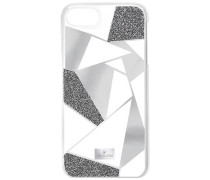 Heroism Smartphone Etui mit Bumper, iPhone® 8, grau Edelstahl