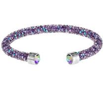 Crystaldust Armreif, violett, Edelstahl Violett Edelstahl