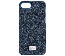 High Smartphone Etui mit Bumper, iPhone® 8, blau Edelstahl