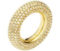 Bolster Ring, vergoldet Braun vergoldet