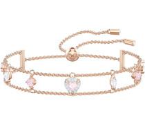 One Armband, mehrfarbig, rosé Vergoldung