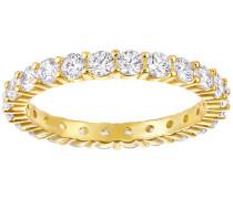 Vittore XL Ring, weiss, vergoldet Weiss vergoldet