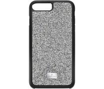 Glam Rock Smartphone Etui mit Bumper, iPhone® 8 Plus, grau