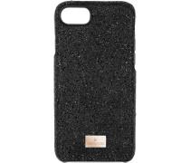 High Smartphone Schutzhülle mit integriertem Stoßschutz, iPhone® 8, schwarz