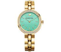 Daytime Turquoise Armbanduhr Weiss vergoldet