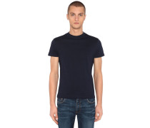 T-SHIRT AUS STRETCH-BAUMWOLLJERSEY