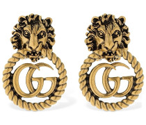 "OHRRINGE ""LION HEAD VINTAGE GG"""