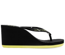 WEDGE-FLIPFLOPS AUS GUMMI