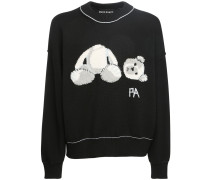 ICE BEAR KNIT WOOL PULLOVER