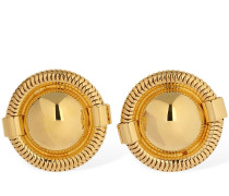 ROUND CLIP-ON EARRINGS
