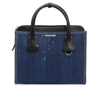MEDIUM HANDTASCHE AUS DENIM 'DEANA'