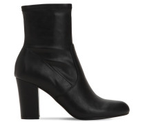 90MM ACTUAL FAUX LEATHER BOOTS