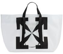 PRINTED ARROWS PVC TOTE BAG