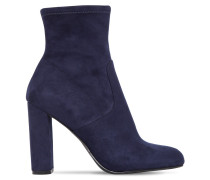 100MM EDITT STRETCH FAUX SUEDE BOOTS