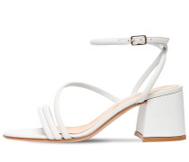 60MM LEATHER SANDALS