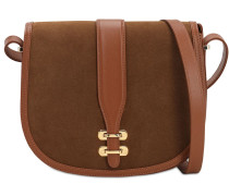 ALBI SUEDE SHOULDER BAG
