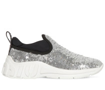 10MM HOHE SLIP-ON-SNEAKERS MIT PAILLETTEN