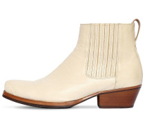 CUBAN LEATHER BOOTS