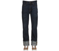 JEANS AUS DENIM IM RAW CUT