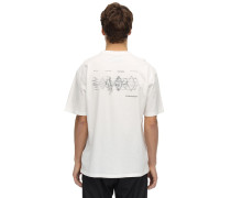 DISTORTED HORIZON PRINTED T-SHIRT