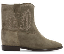 60MM CRISI SUEDE ANKLE BOOTS