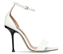 105MM PATENT LEATHER SANDALS