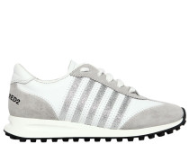 20MM SNEAKERS AUS LEDER & WILDLEDER 'NEW RUNNER'