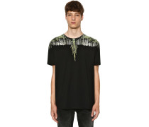 PRINTED WINGS COTTON JERSEY T-SHIRT
