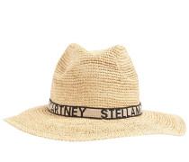 LOGO RAFFIA HAT